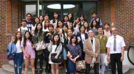 20140917 Besuch Korea University Studenten